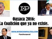 Oaxaca 2016: Coalición existe.