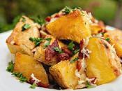 Receta Patatas Bacon Queso Gratinado