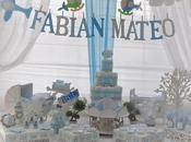 """Decoración para Baby Shower niño """"Fabian Mateo"""""""