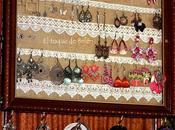 Expositor para pendientes, collares pulseras anillos