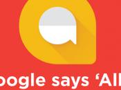 Bienvenido Google ALLO