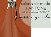 "Colores moda otoño invierno: ""potters clay"""