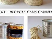 reciclando botes conservas para decorar