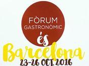 Fòrum Gastronòmic vuelve Barcelona