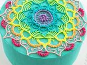 pasteles diseño Mandala preciosos