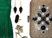 Como combinar vestido verde encaje