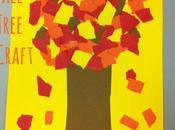 Manualidad árbol otoño