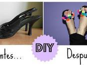 Diy: customizando unas sandalias