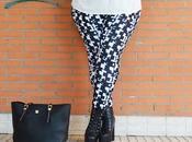 Outfit Black White Blanco Negro Plus Size Girl