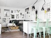 DECO toque naturaleza mint para apartamento urbano