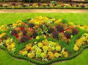Jardín Remparts Vannes. Pintando flores