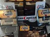 Probando queso curado Gran Capitán