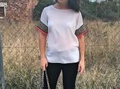 Camiseta detalle mangas