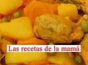 Receta Fácil guiso pollo patatas