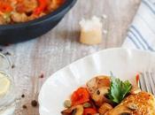 Pollo mediterráneo estilo Jamie Oliver