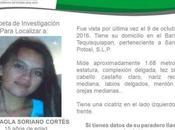 Desaparece otra joven Luis Potosí