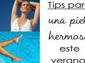 #Divitips para piel hermosa verano