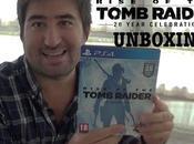 Unboxing Rise Tomb Raider: Aniversario para