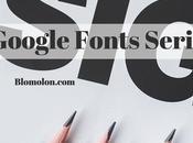 Google Fonts Serif