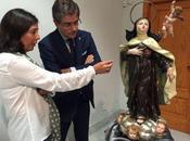 Restaurada imagen santa Teresa Murcia