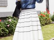 Looks Falda Camisa Jean