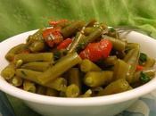 Salade haricots verts poivron rôti green beans roasted pepper salad ensalada judias verdes pimiento asado سلطة الفاصوليا الخضراء والفلفل المشوي
