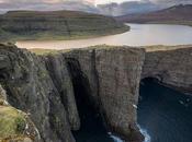 increíble ilusión óptica lago creada naturaleza