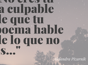 eres culpable-Alejandra Pizarnik