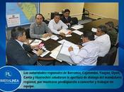 Gobernador consejeros región lima analizan analizar situación obras…