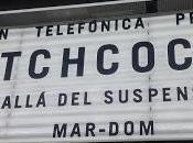 Exposición hitchcock, allá suspense