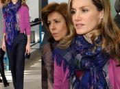 "Princesa Letizia visitó Centro ""Profesor Raul Vázquez"" Madrid. Analizamos look"