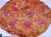 Valentín 2011 Pizza tres Quesos