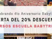 Oferta aniversario: descuento Escuela Babytribu