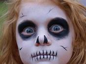 Maquillaje Halloween para peques.