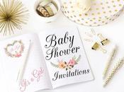 Invitación Baby Shower Lemon Drops Peach Handmade Invite.