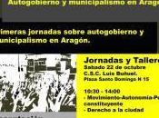 Jornadas Autogobierno Municipalismo Aragón
