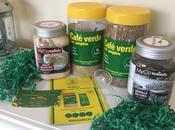 Café verde Jengibre Sadiet, maca polvo semillas chía
