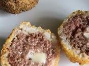 Arancini carne queso azul
