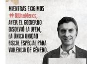 #NiUnaMenos capturas desde Twitter