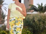 Outfit tendencia estampado limones