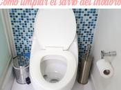 Cómo limpiar sarro inodoro
