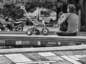 Fotografías gente paisaje urbano.