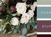 Fall Wedding Color Palettes Decor.