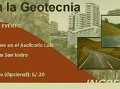 Especialista capítulo peruano IAPG expone mañana conferencia sobre Geotécnia