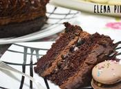 """Tarta chocolate café: proyecto final taller """"Macarons milímetro"""""""
