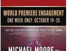 nueva película Michael Moore, riesgo convencer convencidos