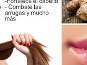 Secretos belleza jengibre para cabello piel sorprenderan