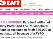 ¿Eres Potterhead? libro estantería puede valer 20.000 libras