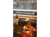 Primera visita Niña Símbolo Teletón Metro Panamá