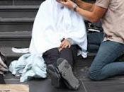 Joshua Coombes, peluquero 'sin techo' Londres